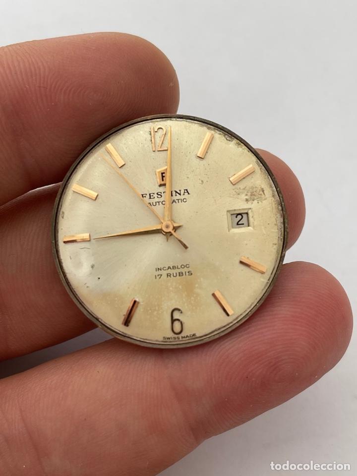 MAQUINARIA, MOVIMIENTO FESTINA AUTOMATIC (Relojes - Relojes Automáticos)