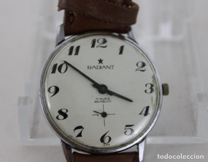 RELOJ DE PULSERA AUTOMÁTICO RADIANT 17 RUBIS INCABLOC (Relojes - Relojes Automáticos)
