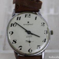 Relojes automáticos: RELOJ DE PULSERA AUTOMÁTICO RADIANT 17 RUBIS INCABLOC. Lote 269363293