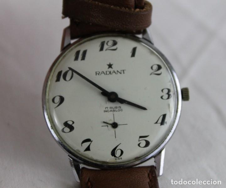 Relojes automáticos: Reloj de pulsera automático Radiant 17 Rubis Incabloc - Foto 2 - 269363293
