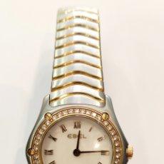 Relojes automáticos: RELOJ EBEL ACERO ORO Y DIAMANTES. Lote 270106833