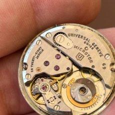 Orologi automatici: MOVIMIENTO UNIVERSAL GENEVE 69 POLEROUTER MOCROTOR AUTOMATIC, FUNCIONA. Lote 270131028