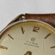 Relojes automáticos: RELOJ VINTAGE CYMA AUTOROTOR CYMAFLEX FUNCIONANDO.. Lote 270624513