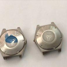 Relojes automáticos: DOS CAJAS CYMA CONQUISTADOR ( M.AUTOMATICO ). Lote 272243763