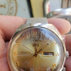 Relojes automáticos: ANTIGUO RELOJ ORIENT AUTOMATICO CALENDARIO PERPETUO 21 RUBIS FUNCIONANDO. Lote 274212983