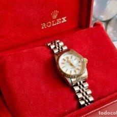 Relojes automáticos: RELOJ OYSTER PERPETUAL DATEJUST CHRONOMETER CALENDARIO 1601 ROLEX CON CAJA (FUNCIONANDO). Lote 297065963