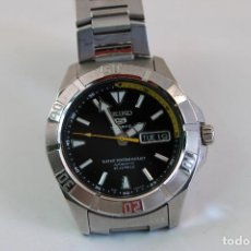 Montres automatiques: SEIKO 5 SPORTS 7S36-03C0 AUTOMATIC BLACK DIAL DAY/DATE MENS. Lote 276617773