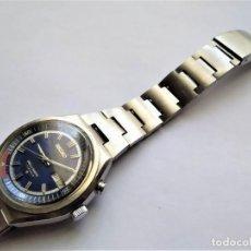 Relojes automáticos: SEIKO BELL-MATIC RELOJ PULSERA CABALLERO AUTOMÁTICO CON ALARMA MOV. 4006 AZUL BELLMATIC. Lote 276738608