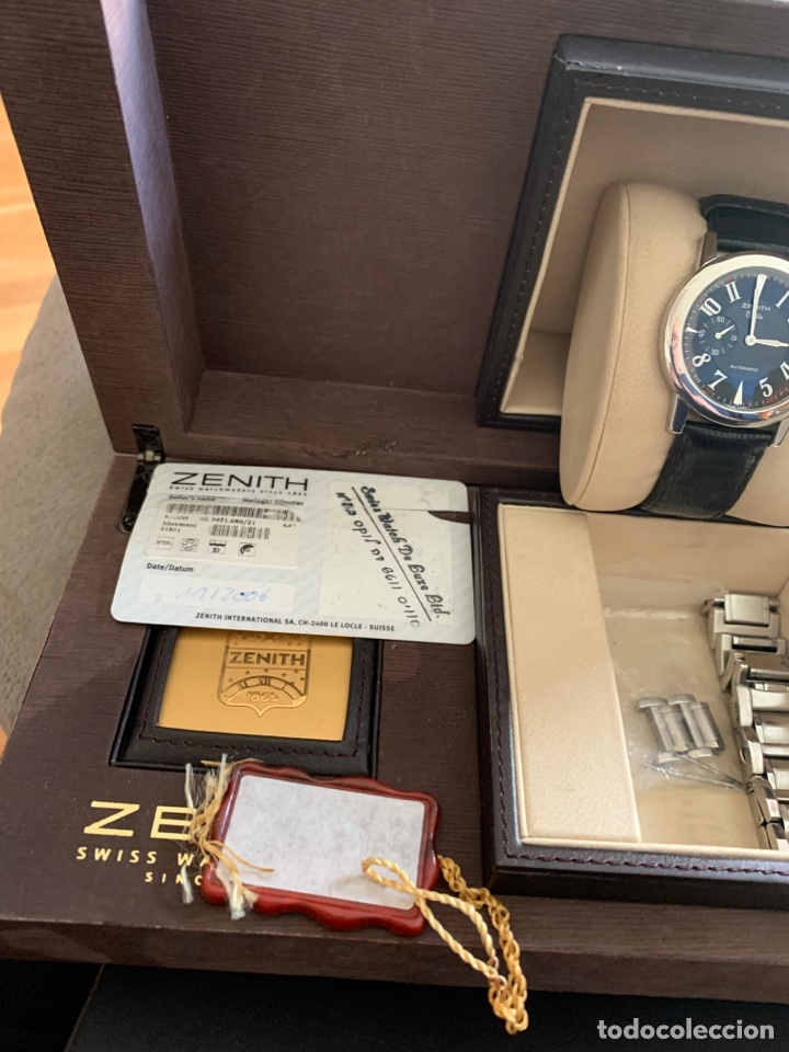 Relojes automáticos: Reloj zeniht elite casi nuevo - Foto 3 - 276800258