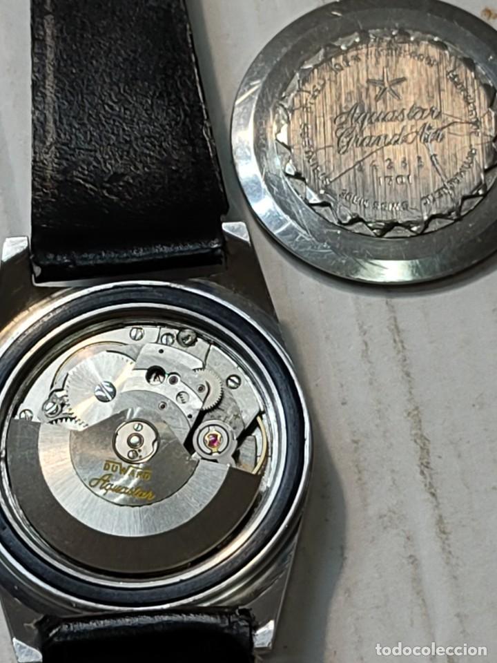 RELOJ DUWARD AQUASTAR GRAND'AIR AUTOMATIC CABALLERO FUNCIONANDO (Relojes - Relojes Automáticos)