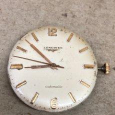 Relojes automáticos: RELOJ LONGINES AUTOMÁTICO MAQUINA EN FUNCIONAMIENTO. Lote 277827768