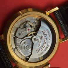 Relojes automáticos: RELOJ SUIZO AUTOMÁTICO. ADAMATIC . FUNCIONANDO PERFECTO. 35MM SIN CONTAR CORONA .BAÑO DE ORO .. Lote 278166983