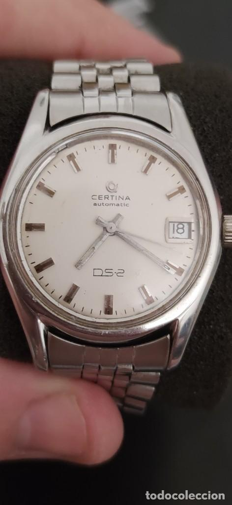 Relojes automáticos: CERTINA DS-2 AUTOMATICO VINTAGE, FUNCIONANDO PRECIOSO. - Foto 6 - 278926128