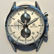 Relojes automáticos: MEGIR CHRONOGRAPH, SIN CORREA, NUEVO MUY ELEGANTE. Lote 278962003