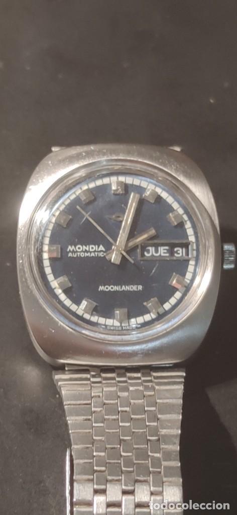 MONDIA MOONLANDER AUTOMÁTICO, PRECIOSO, VINTAGE, FUNCIONANDO. (Relojes - Relojes Automáticos)
