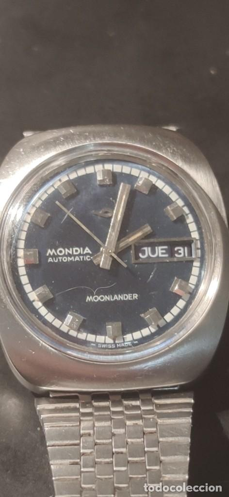 Relojes automáticos: MONDIA MOONLANDER AUTOMÁTICO, PRECIOSO, VINTAGE, FUNCIONANDO. - Foto 2 - 279328083