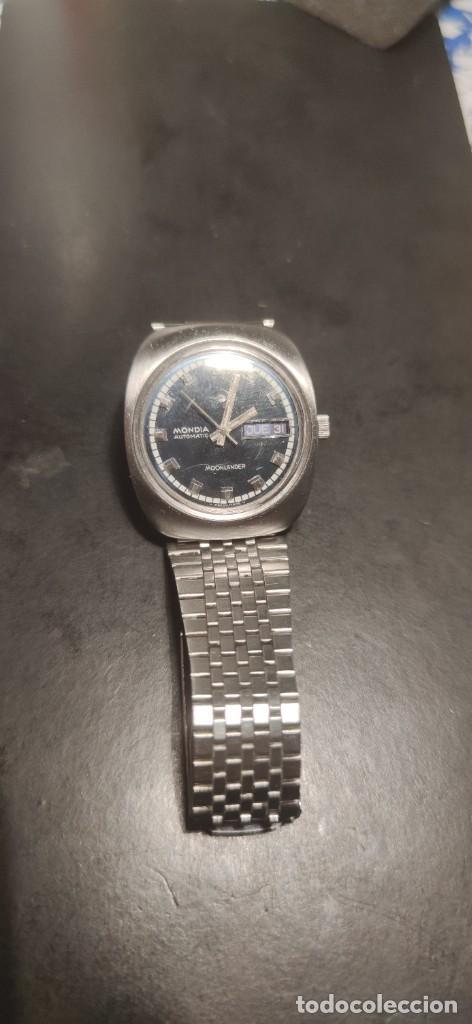 Relojes automáticos: MONDIA MOONLANDER AUTOMÁTICO, PRECIOSO, VINTAGE, FUNCIONANDO. - Foto 3 - 279328083