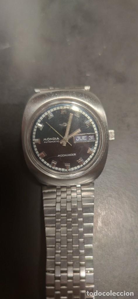 Relojes automáticos: MONDIA MOONLANDER AUTOMÁTICO, PRECIOSO, VINTAGE, FUNCIONANDO. - Foto 4 - 279328083