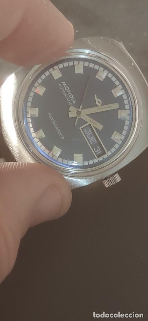 Relojes automáticos: MONDIA MOONLANDER AUTOMÁTICO, PRECIOSO, VINTAGE, FUNCIONANDO. - Foto 8 - 279328083