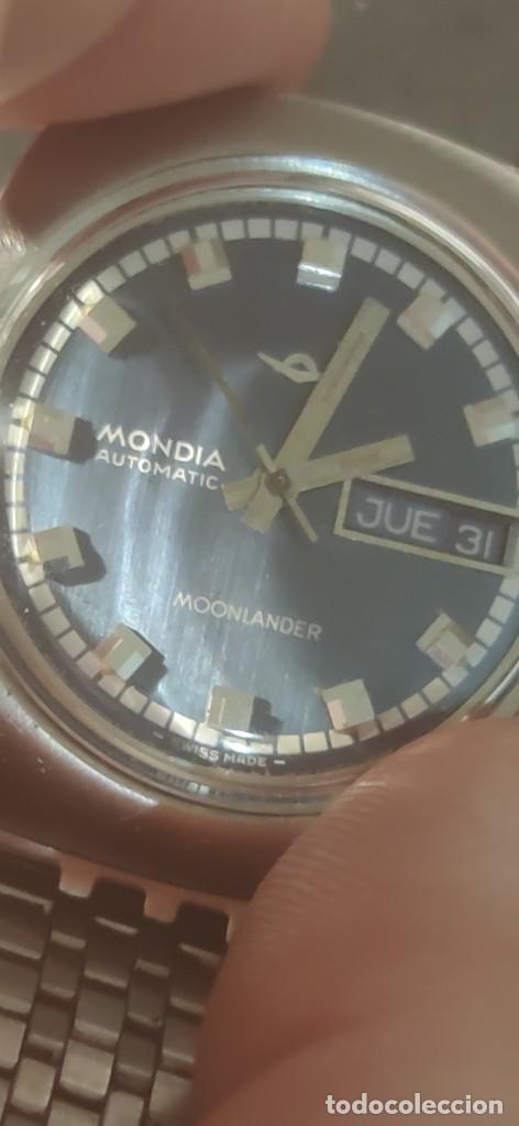 Relojes automáticos: MONDIA MOONLANDER AUTOMÁTICO, PRECIOSO, VINTAGE, FUNCIONANDO. - Foto 9 - 279328083