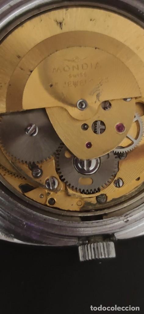 Relojes automáticos: MONDIA MOONLANDER AUTOMÁTICO, PRECIOSO, VINTAGE, FUNCIONANDO. - Foto 12 - 279328083