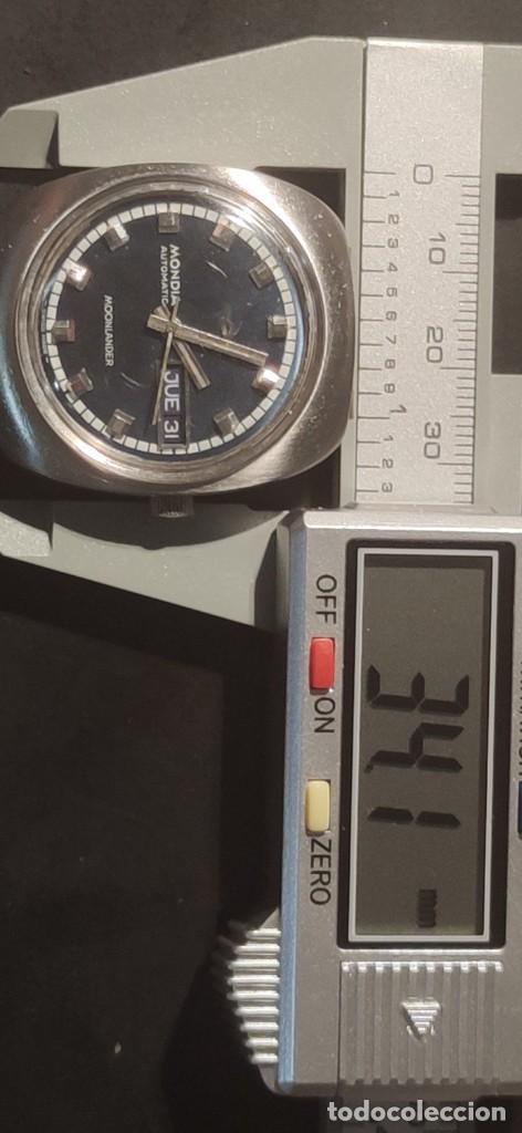 Relojes automáticos: MONDIA MOONLANDER AUTOMÁTICO, PRECIOSO, VINTAGE, FUNCIONANDO. - Foto 15 - 279328083