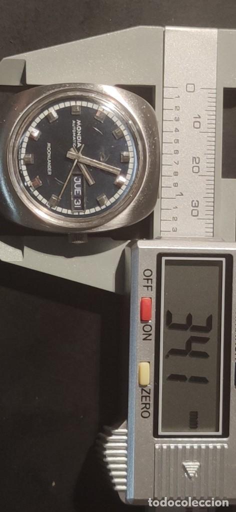 Relojes automáticos: MONDIA MOONLANDER AUTOMÁTICO, PRECIOSO, VINTAGE, FUNCIONANDO. - Foto 16 - 279328083