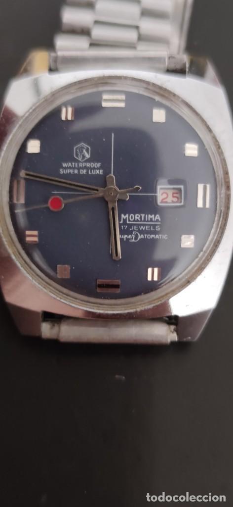 Relojes automáticos: MORTIMA SUPERDATOMATIC, RELOJ AÑOS 70 AUTOMÁTICO VINTAGE FUNCIONANDO, UNA PRECIOSIDAD. - Foto 2 - 279362098