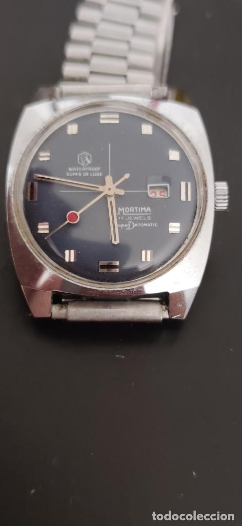 Relojes automáticos: MORTIMA SUPERDATOMATIC, RELOJ AÑOS 70 AUTOMÁTICO VINTAGE FUNCIONANDO, UNA PRECIOSIDAD. - Foto 3 - 279362098