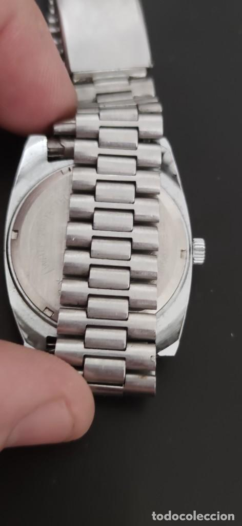 Relojes automáticos: MORTIMA SUPERDATOMATIC, RELOJ AÑOS 70 AUTOMÁTICO VINTAGE FUNCIONANDO, UNA PRECIOSIDAD. - Foto 4 - 279362098