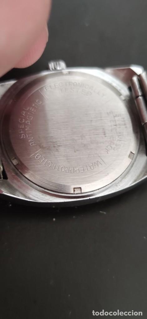 Relojes automáticos: MORTIMA SUPERDATOMATIC, RELOJ AÑOS 70 AUTOMÁTICO VINTAGE FUNCIONANDO, UNA PRECIOSIDAD. - Foto 5 - 279362098