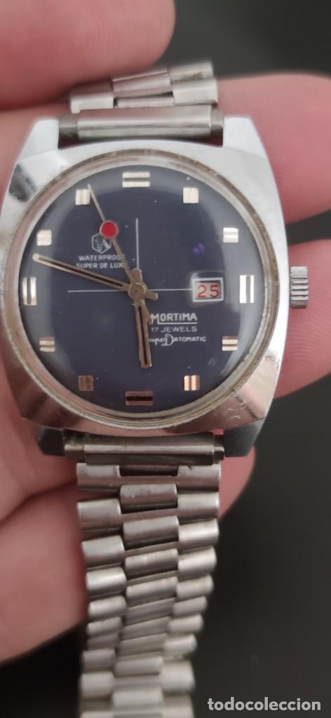 Relojes automáticos: MORTIMA SUPERDATOMATIC, RELOJ AÑOS 70 AUTOMÁTICO VINTAGE FUNCIONANDO, UNA PRECIOSIDAD. - Foto 10 - 279362098