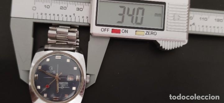 Relojes automáticos: MORTIMA SUPERDATOMATIC, RELOJ AÑOS 70 AUTOMÁTICO VINTAGE FUNCIONANDO, UNA PRECIOSIDAD. - Foto 11 - 279362098