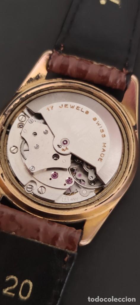 Relojes automáticos: TITAN 17 RUBIS AUTOMATICO, DOBLE CALENDARIO, VINTAGE ,FUNCIONANDO, PRECIOSO. - Foto 6 - 279367343
