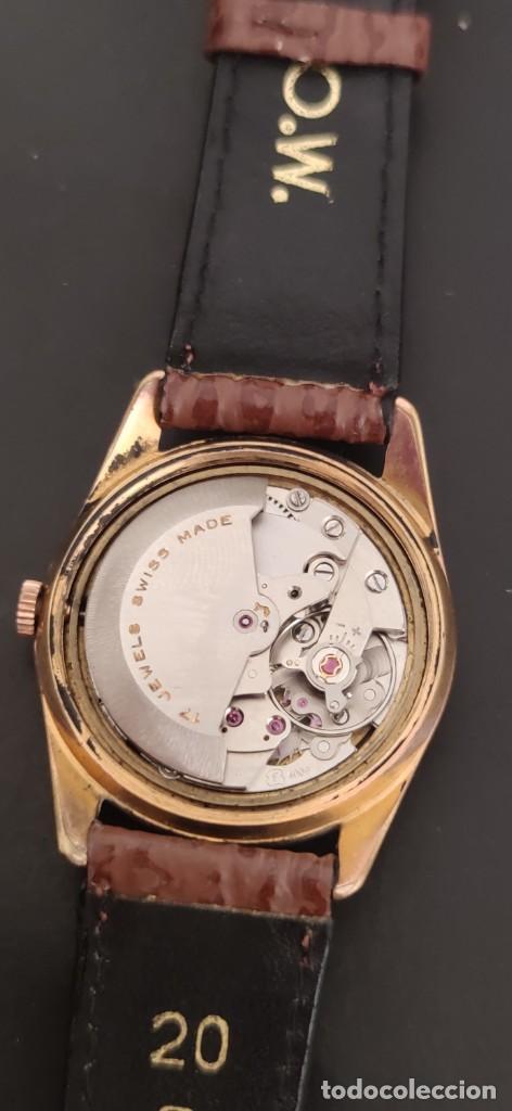 Relojes automáticos: TITAN 17 RUBIS AUTOMATICO, DOBLE CALENDARIO, VINTAGE ,FUNCIONANDO, PRECIOSO. - Foto 7 - 279367343