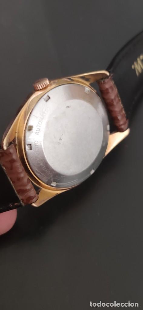 Relojes automáticos: TITAN 17 RUBIS AUTOMATICO, DOBLE CALENDARIO, VINTAGE ,FUNCIONANDO, PRECIOSO. - Foto 9 - 279367343