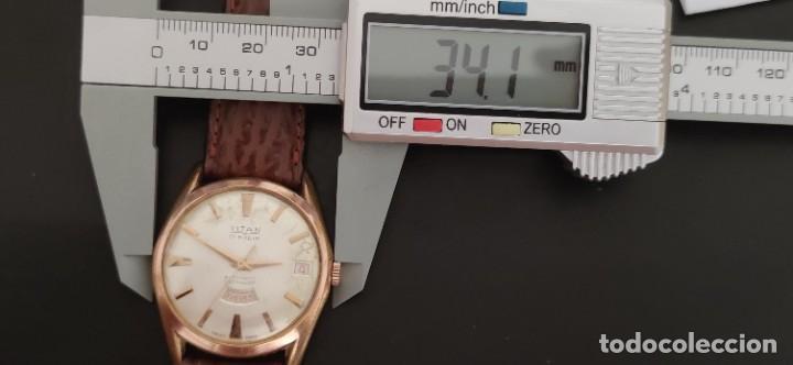 Relojes automáticos: TITAN 17 RUBIS AUTOMATICO, DOBLE CALENDARIO, VINTAGE ,FUNCIONANDO, PRECIOSO. - Foto 15 - 279367343