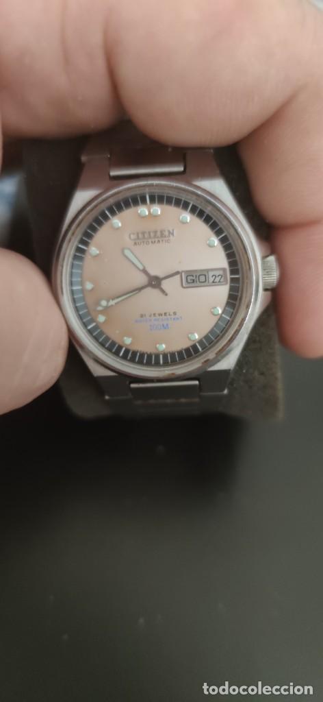 RARISIMO CITIZEN AUTOMATICO DIVER 100 METROS, ESTADO IMPECABLE, FUNCIONANDO, NO ENCONTRARAS OTRO. (Relojes - Relojes Automáticos)
