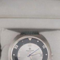 Relojes automáticos: AQUASTAR GENEVE SEATIME, AUTOMATICO, FUNCIONA PERFECTAMENTE. COMO NUEVO.. Lote 279378723