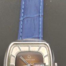 Relojes automáticos: PRECIOSO CERTINA AUTOMATICO VINTAGE, BITONO, PARA ACOMPAÑAR A TU VEHICULO CLASICO IDEAL. VINTAGE. Lote 279402418