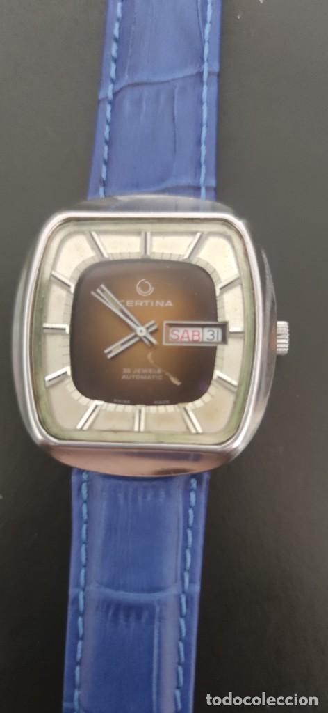 Relojes automáticos: PRECIOSO CERTINA AUTOMATICO VINTAGE, BITONO, PARA ACOMPAÑAR A TU VEHICULO CLASICO IDEAL. VINTAGE - Foto 2 - 279402418
