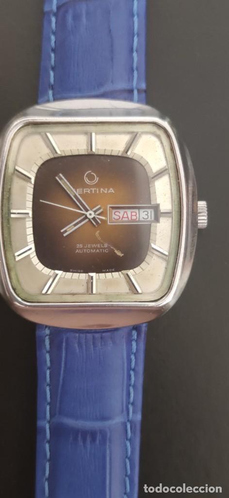 Relojes automáticos: PRECIOSO CERTINA AUTOMATICO VINTAGE, BITONO, PARA ACOMPAÑAR A TU VEHICULO CLASICO IDEAL. VINTAGE - Foto 10 - 279402418