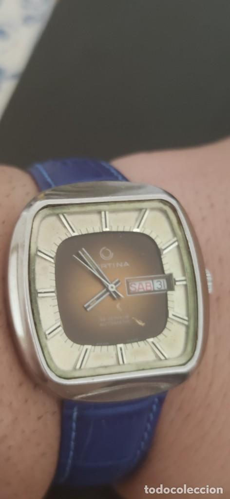 Relojes automáticos: PRECIOSO CERTINA AUTOMATICO VINTAGE, BITONO, PARA ACOMPAÑAR A TU VEHICULO CLASICO IDEAL. VINTAGE - Foto 12 - 279402418