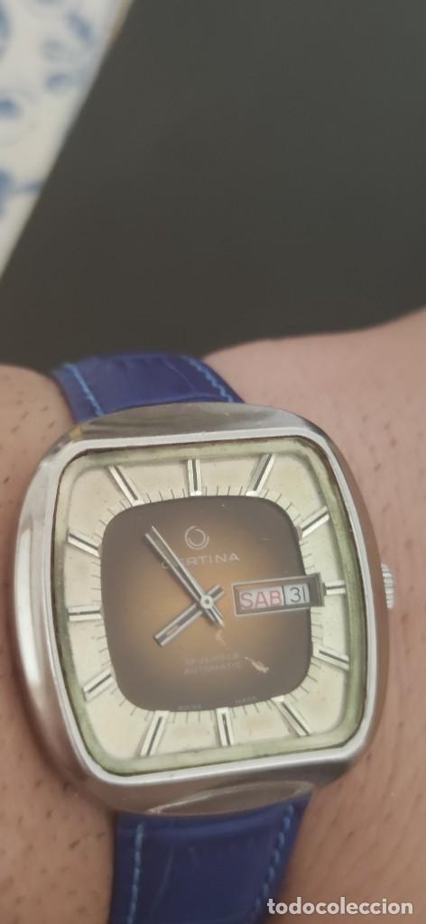 Relojes automáticos: PRECIOSO CERTINA AUTOMATICO VINTAGE, BITONO, PARA ACOMPAÑAR A TU VEHICULO CLASICO IDEAL. VINTAGE - Foto 13 - 279402418