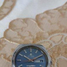 Relojes automáticos: RELOJ DE COLECCIÓN CYMA CONQUISTADOR AUTOMATIC CALENDARIO SEMANARIO FUNCIONA MIRA. Lote 279432978