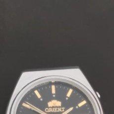 Relojes automáticos: ORIENT CRYSTAL 21 JEWELS AUTOMATICO. PERFECTO, COMO NUEVO, FUNCIONANDO, ESFERA NEGRA. Lote 280681193