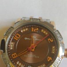 Relojes automáticos: YONGER & BRESSON RELOJ AUTOMÁTICO 48 DIAMANTES NATURALES. Lote 280855208