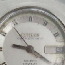 Relojes automáticos: RARISIMO CITIZEN COSMOSTARV2 AUTOMATIC SUPER BLAT 21 JEWELS, DE MUJER.CAJA1. Lote 282532648
