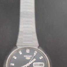 Relojes automáticos: SEIKO 5 ESFERA NEGRA, AUTOMÁTICO, 21 JEWELS, SOLO LE FALTA LIMPIEZA Y ENGRASE.PRECIOSO, CAJA1.. Lote 282533753