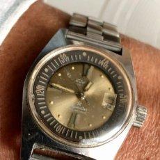 Relojes automáticos: DUWARD AQUASTAR GENEVE LADY 100 METROS, DIVER AUTOMATICO, FUNCIONANDO, PRECIOSO.. Lote 282576843